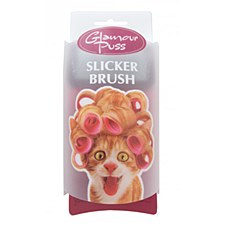 Trouble & Trix Glamour Puss Cat Slicker Brush