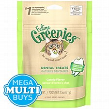 Greenies Cat Dental Treats with Catnip 71g