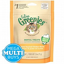 Greenies Cat Dental Treats with Chicken 71g