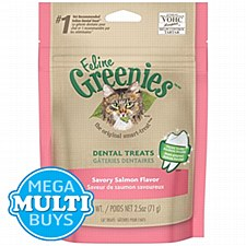 Greenies Cat Dental Treats with Salmon 71g