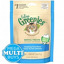 Greenies Cat Dental Treats with Tuna 71g