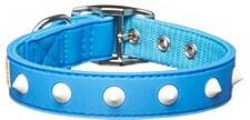 Gummi Dog Collar Spike Puppy Blue