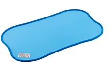 Gummi Feeding Mat Large Blue