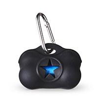 Gummi Dog Waste Bag Dispenser Black