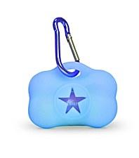 Gummi Dog Waste Bag Dispenser Blue