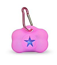 Gummi Dog Waste Bag Dispenser Pink