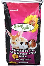 Green Valley Grains Rabbit and Guinea Pig Mix 10kg