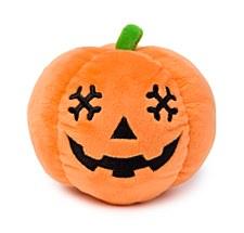 FuzzYard Halloween Plush Dog Toy Pumpkin Head