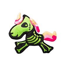 FuzzYard Halloween Plush Dog Toy Unicorn Skeleton
