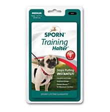 Sporn Training Halter Dog Harness Medium Black