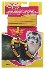 Living World Harness and Lead Set for Ferrets Yellow