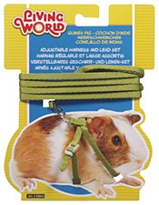 Living World Harness and Lead Set for Guinea Pigs Green