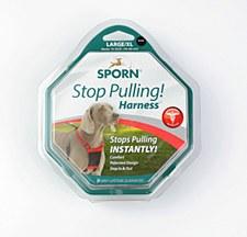 Sporn Stop Pulling! Mesh Dog Harness Large / Extra Large Black