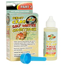 Zoo Med Hermit Crab Salt Water Conditioner 64ml