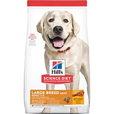 Hill's Science Diet Canine Large Breed Light 12kg Dry Dog Food