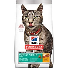 Hill's Science Diet Feline Perfect Weight 3.1kg Dry Cat Food