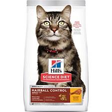 Hill's Science Diet Feline Senior Hairball Control 4kg Dry Cat Food