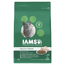Iams Indoor Healthy Senior with Chicken 3kg Dry Cat Food