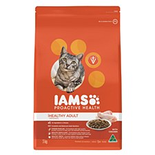 Iams Indoor Healthy Adult with Chicken 3kg Dry Cat Food