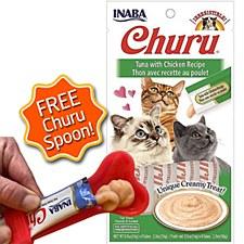 INABA Churu Tuna with Chicken Recipe Cat Treat 56g