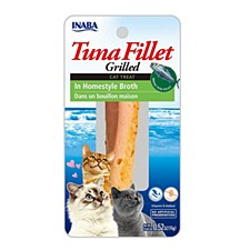 INABA Grilled Tuna Fillet in Homestyle Broth Cat Treat 15g