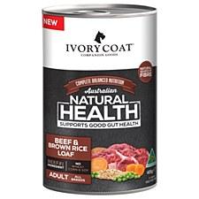 Ivory Coat Adult Beef & Brown Rice Loaf 12x400g Wet Dog Food