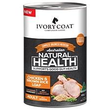 Ivory Coat Adult Chicken & Brown Rice Loaf 12x400g Wet Dog Food