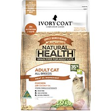 Ivory Coat Grain Free Chicken with Coconut Oil 3kg Dry Cat Food