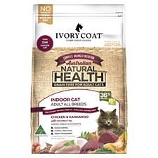 Ivory Coat Grain Free Indoor Chicken & Kangaroo 3kg Dry Cat Food