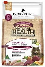 Ivory Coat Grain Free Indoor Chicken & Kangaroo 6kg Dry Cat Food
