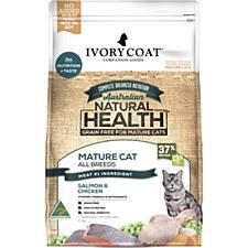 Ivory Coat Grain Free Salmon & Chicken 3kg Dry Mature Cat Food