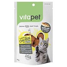 VitaPet Natural Chicken Bites Cat Treats 85g
