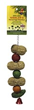 Birdie Peanut & Melon Balls Large Bird Toy