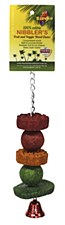Birdie Walnut Fruit Slice Small Bird Toy