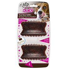 All For Paws Krazy Crunch Treat Bone Refill Large