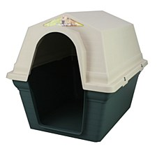 Superior Pet Goods Plastic Green Large Dog Kennel