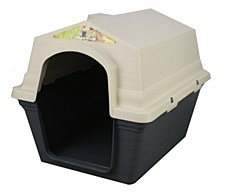 Superior Pet Goods Plastic Green Medium Dog Kennel