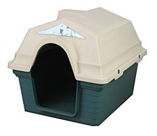 Superior Pet Goods Plastic Green Small Dog Kennel