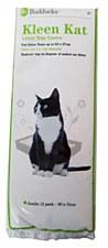 Kleen Kat Litter Tray Liners Jumbo 90cm x 33cm (12 Pack)