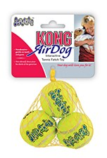 KONG Air Squeaker Tennis Balls Dog Toy Extra Small (3 Pack)