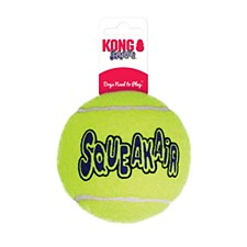 KONG Air Squeaker Tennis Ball Dog Toy Extra Large