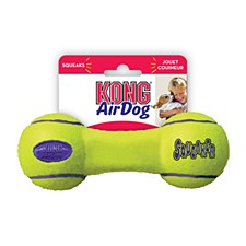 KONG Air Squeaker Dumbbell Dog Toy Small