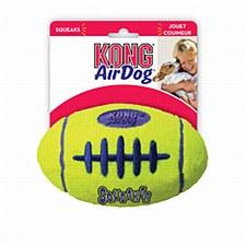 KONG Air Squeaker Football Dog Toy Large