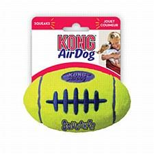 KONG Air Squeaker Football Dog Toy Medium