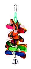 Kazoo Pop Sticks & Bell Medium Bird Toy