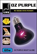 URS OZ Purple Night Globe Small 60W