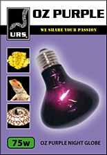 URS OZ Purple Night Globe Small 75W