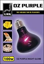 URS OZ Purple Night Globe Small 100W