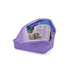 Lees Litter Tray Hi Back Cage Pan for Small Pets