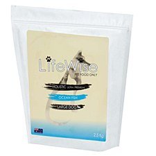 LifeWise Holistic Ultra Premium Ocean Fish Large Dog Dry Food 2.5kg